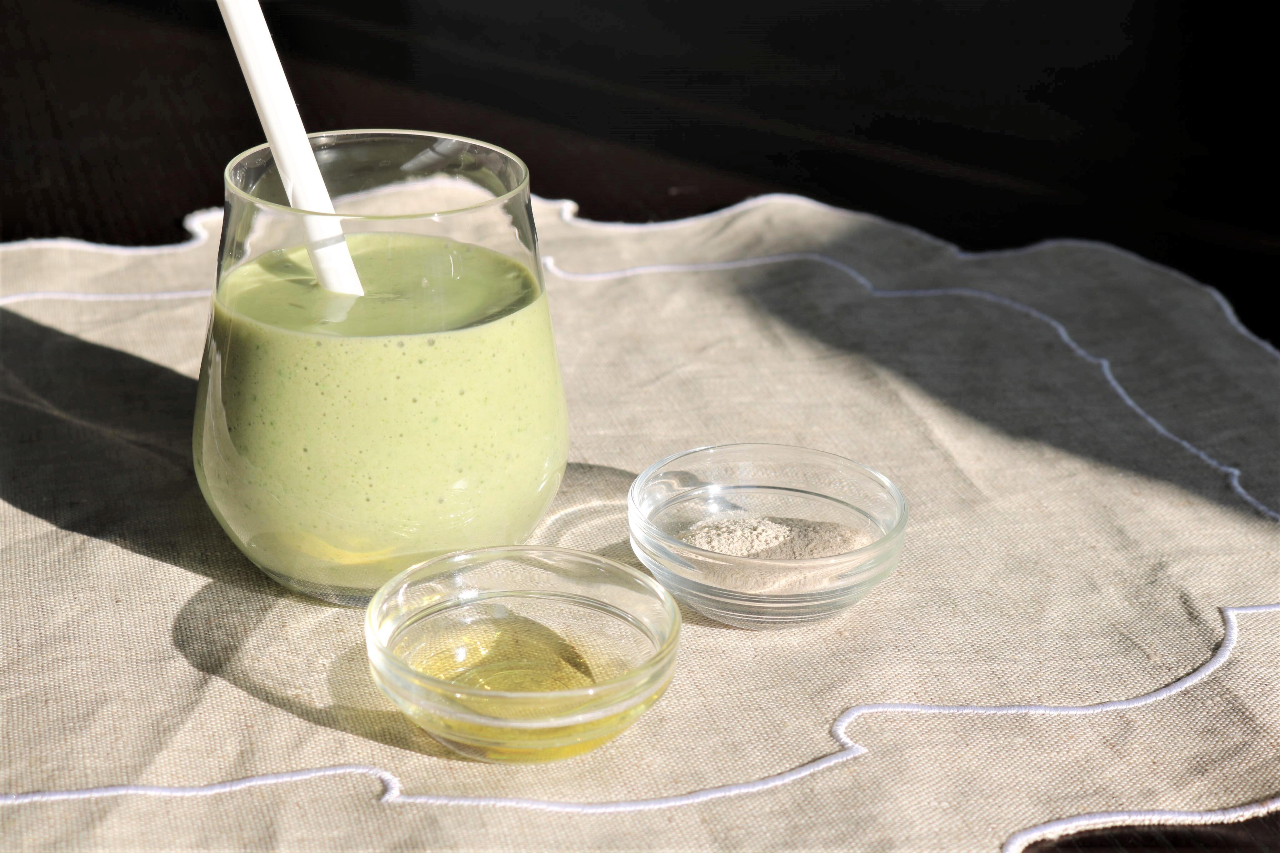 グリーンバナナフラワースムージー / Yo(u)s'レシピ